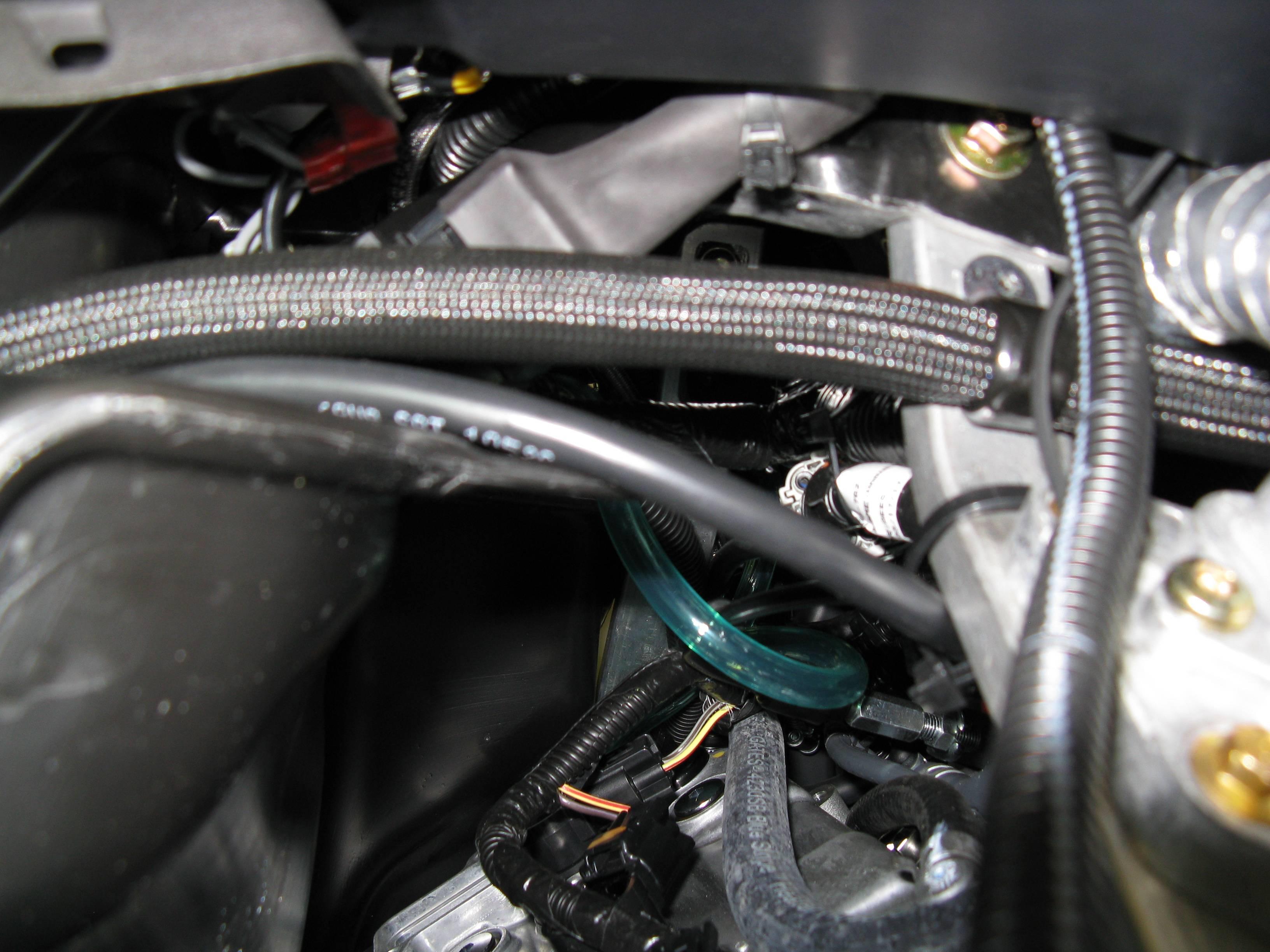 Main ROV harness/relay installed
