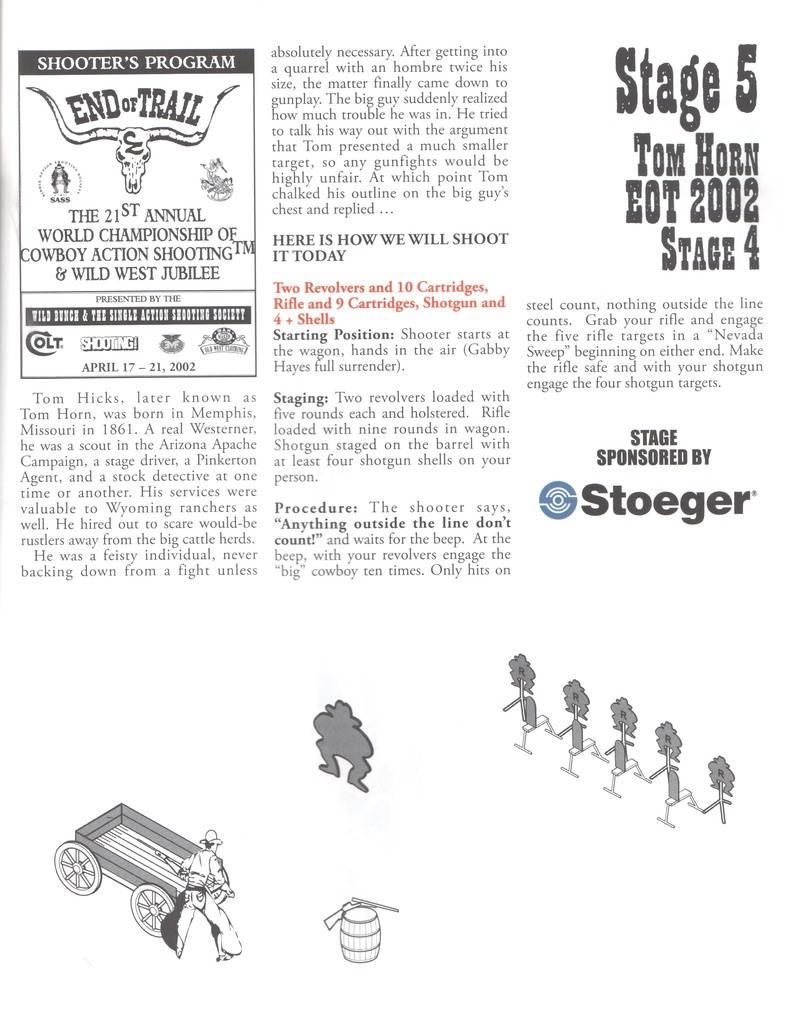 Stage  #5 Tom Horn