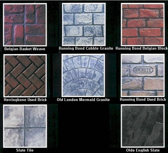 Stamped Concrete examples