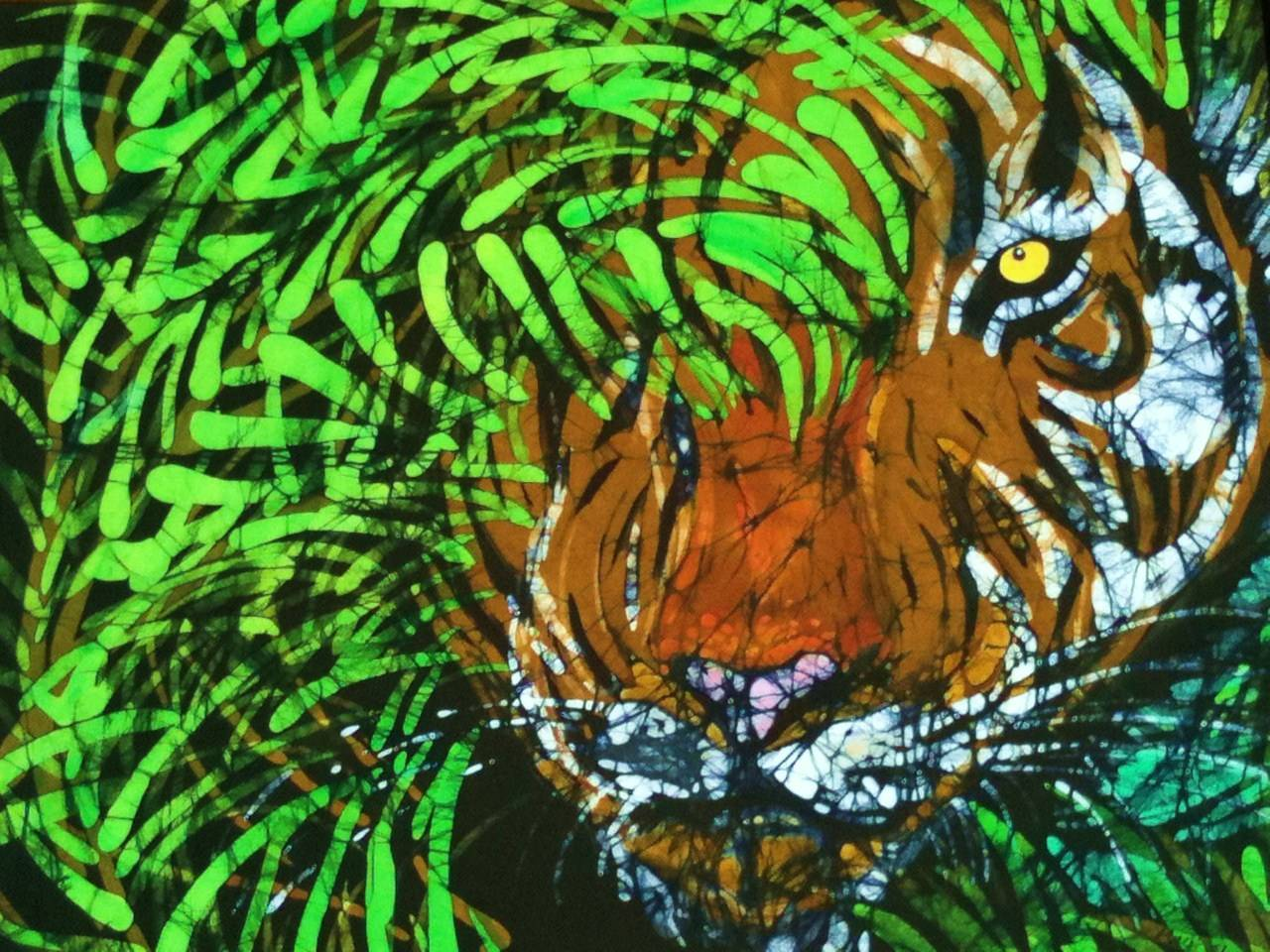 Tiger in Bamboo