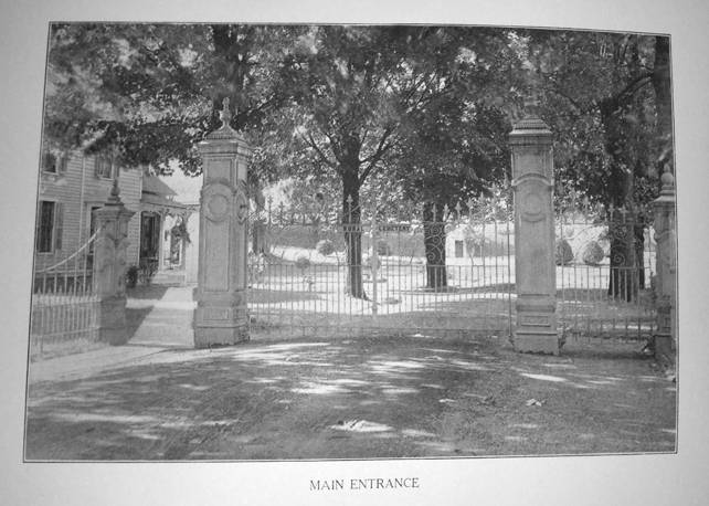 Early superintendent's house