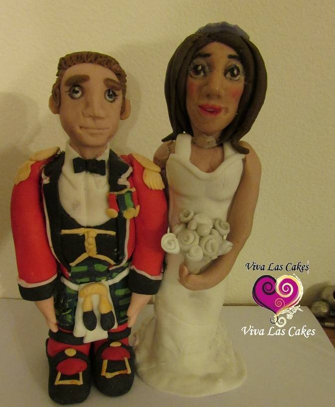 Scottish Kilt couple Topper