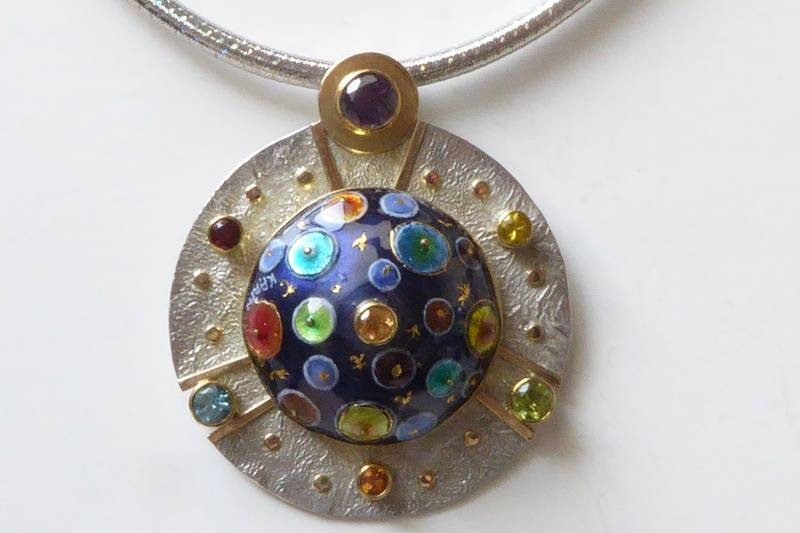 Circles on Spheroid # 2- SOLD