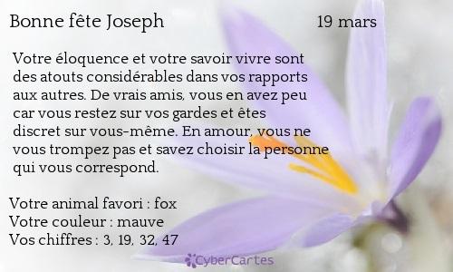 Joseph, Josette