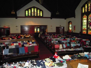 Thanksgiving Outreach and Dinner