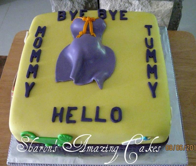 CAKE 06BABY -Hello Mommy 2 Cake
