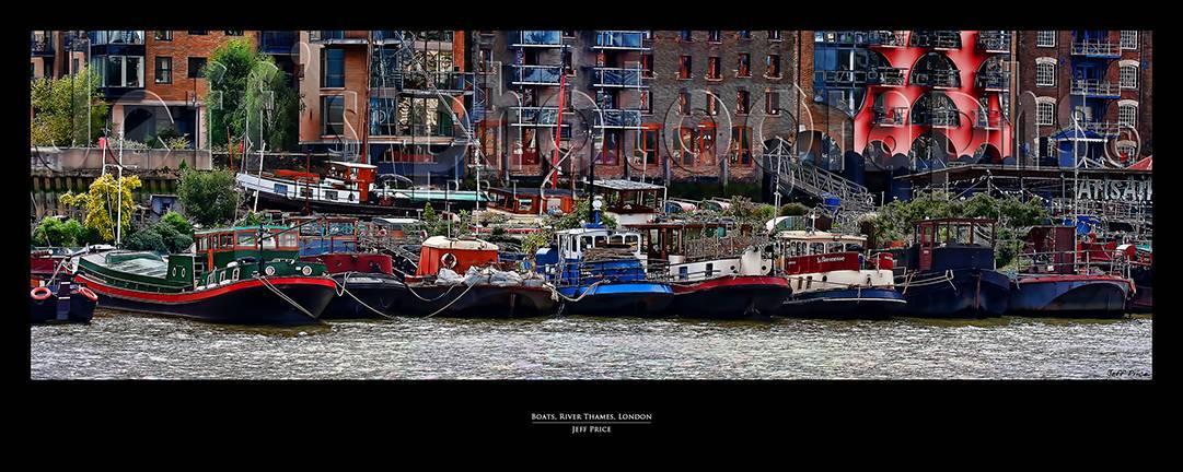 Boats, River Thames, London England
