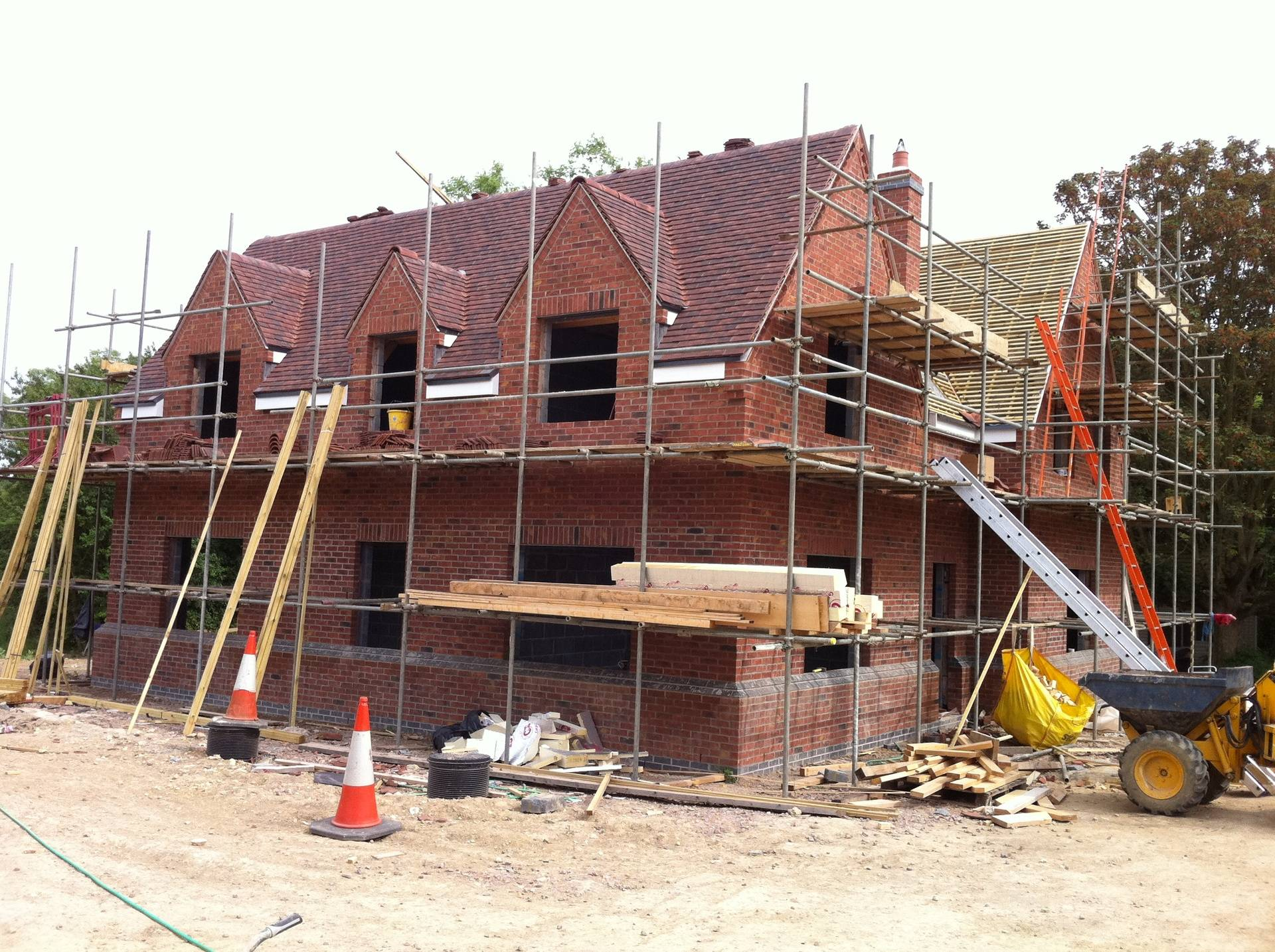 New build Sharnbrook