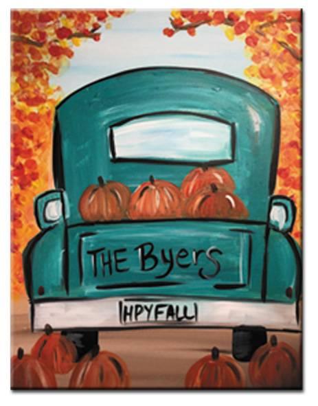 Harvest Delivery (vintage truck)