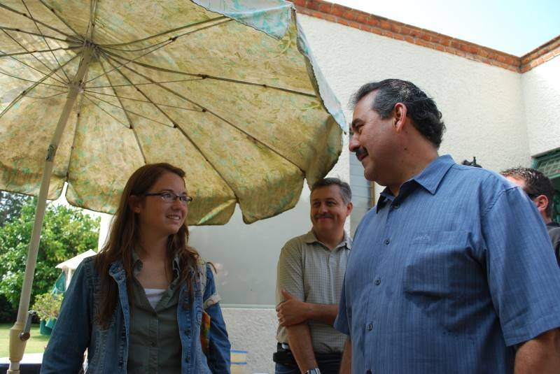 Nicole and Pastor Bush