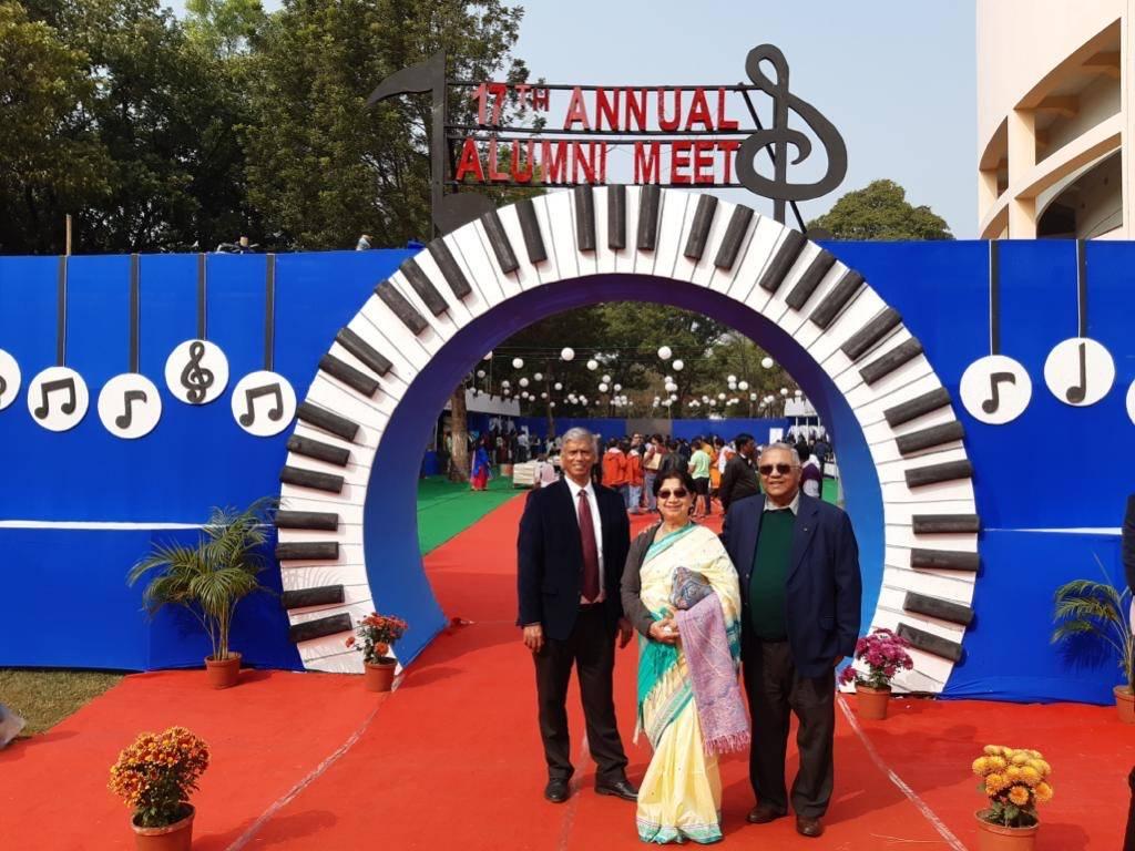 Mr. Shyamal Ghosh and Mrs. Sunanda Ghosh