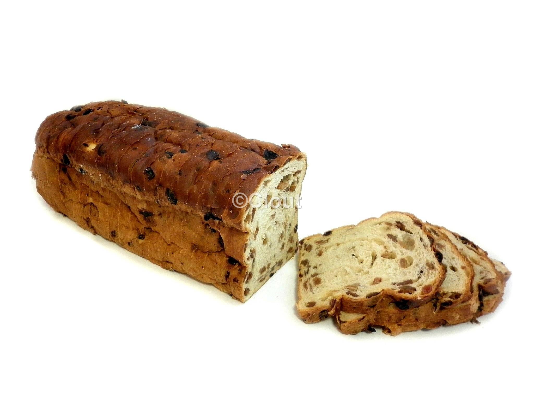Rozijnenbrood groot