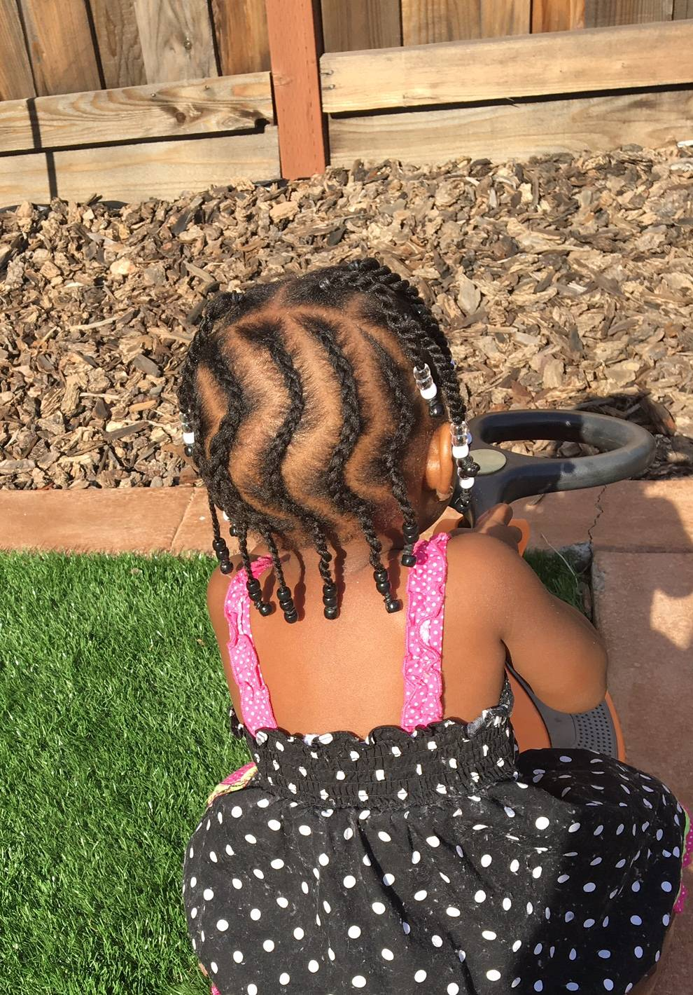 Creative braids for little girls