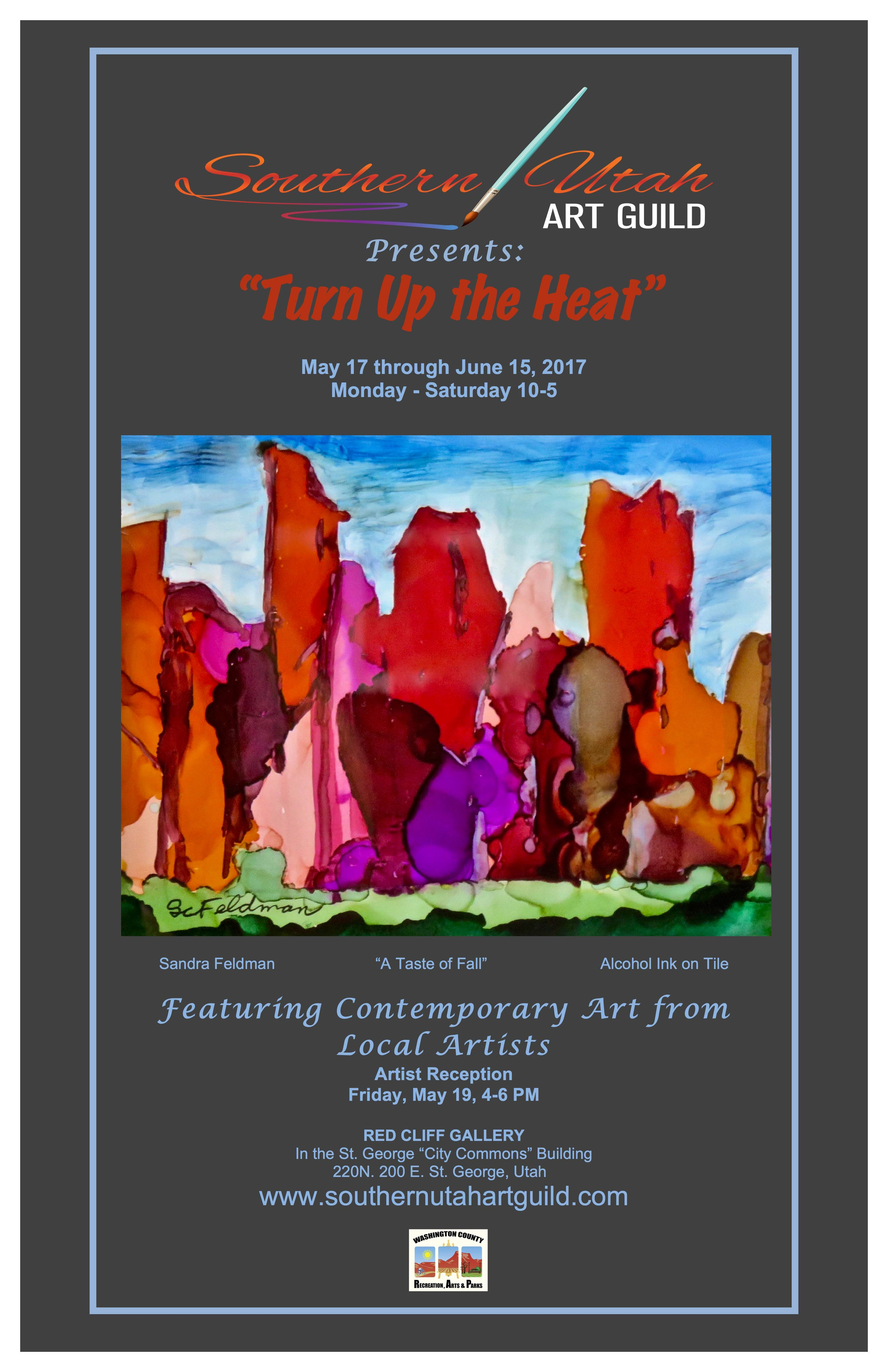 Turn Up the Heat Poster