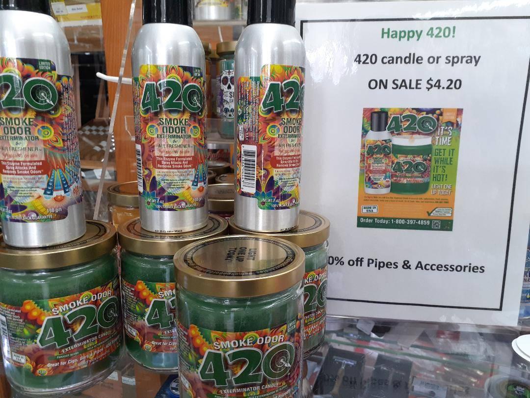 420 Odor Eliminating Candles