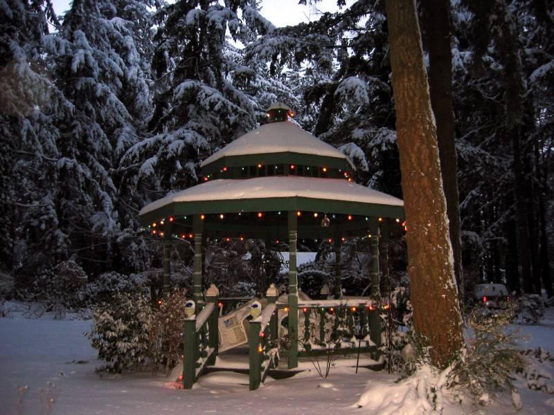 The Gazebo- Christmas Eve 2008