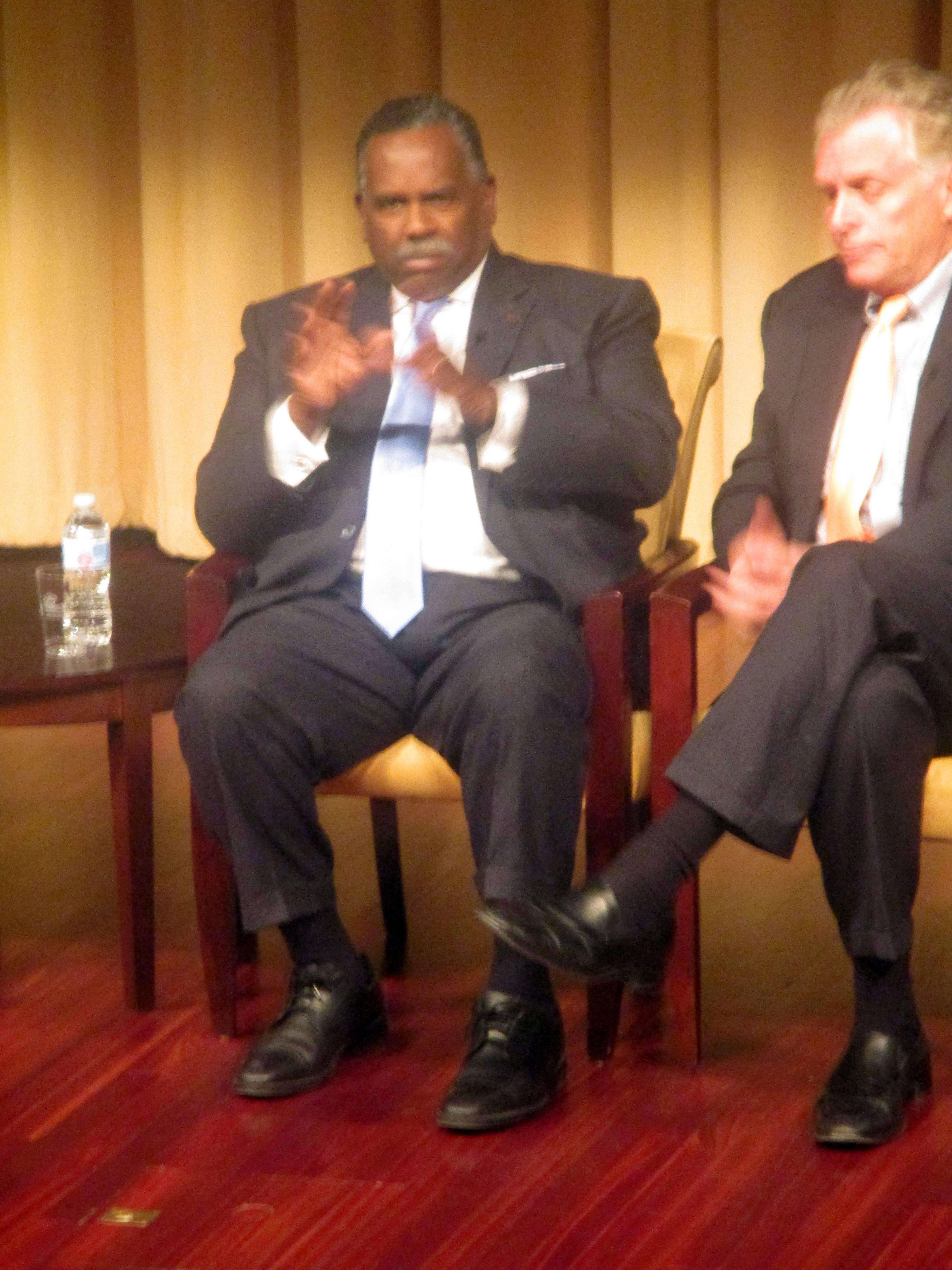 Albert Wynn at Beyond Charlottesville at National Archives and Records Administration