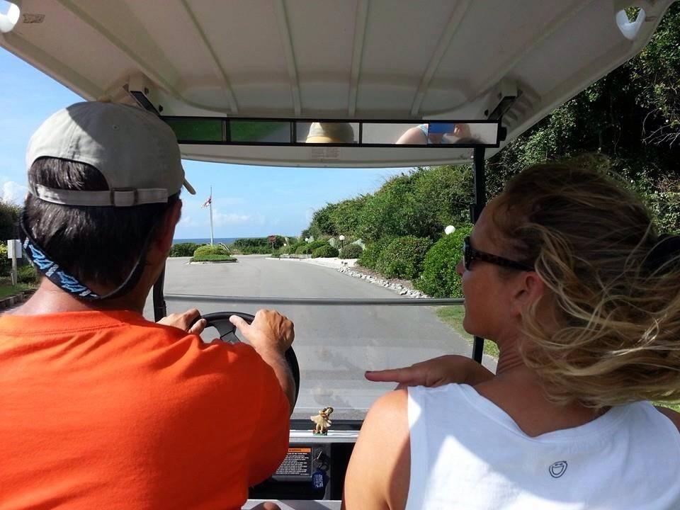 Golf Cart view