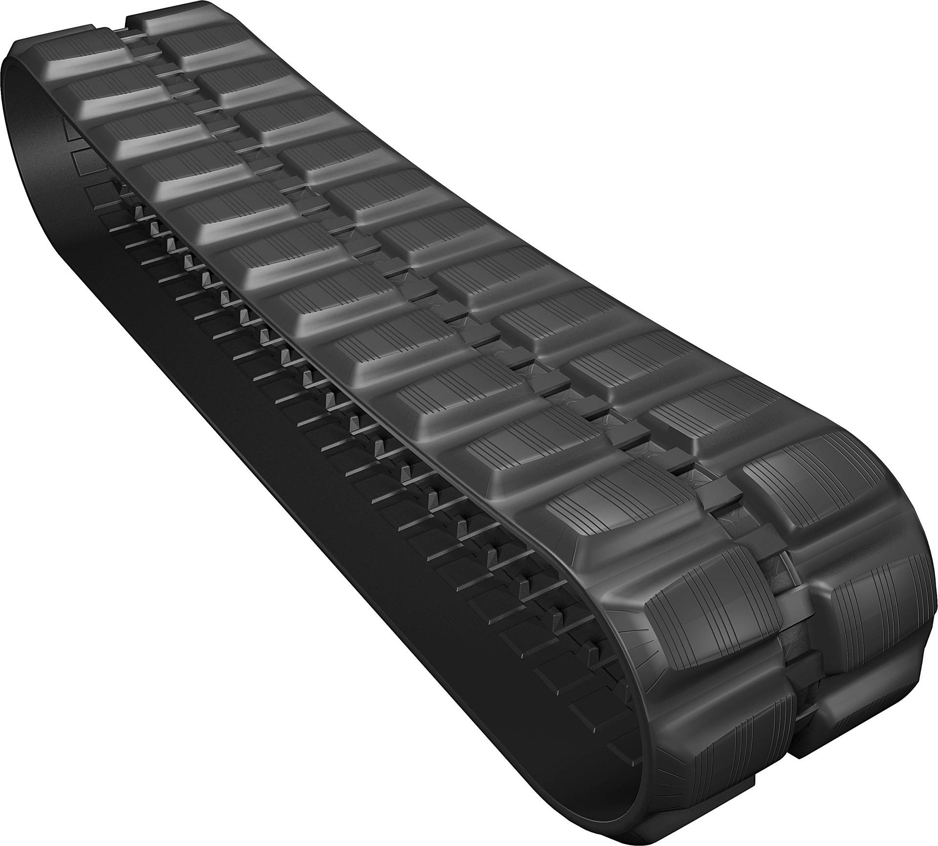 Continuous Track Loader Rubber Tracks