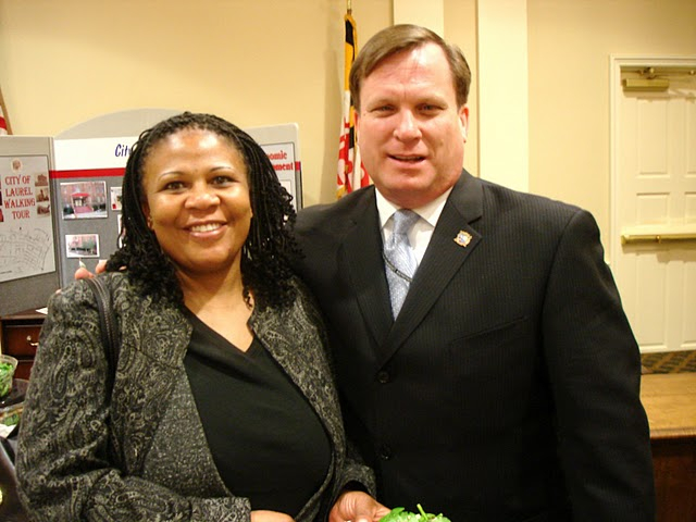 Delegate Griffin and Mayo