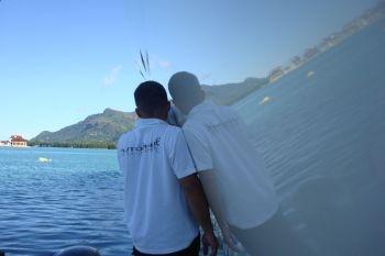 Working in the Indian ocean