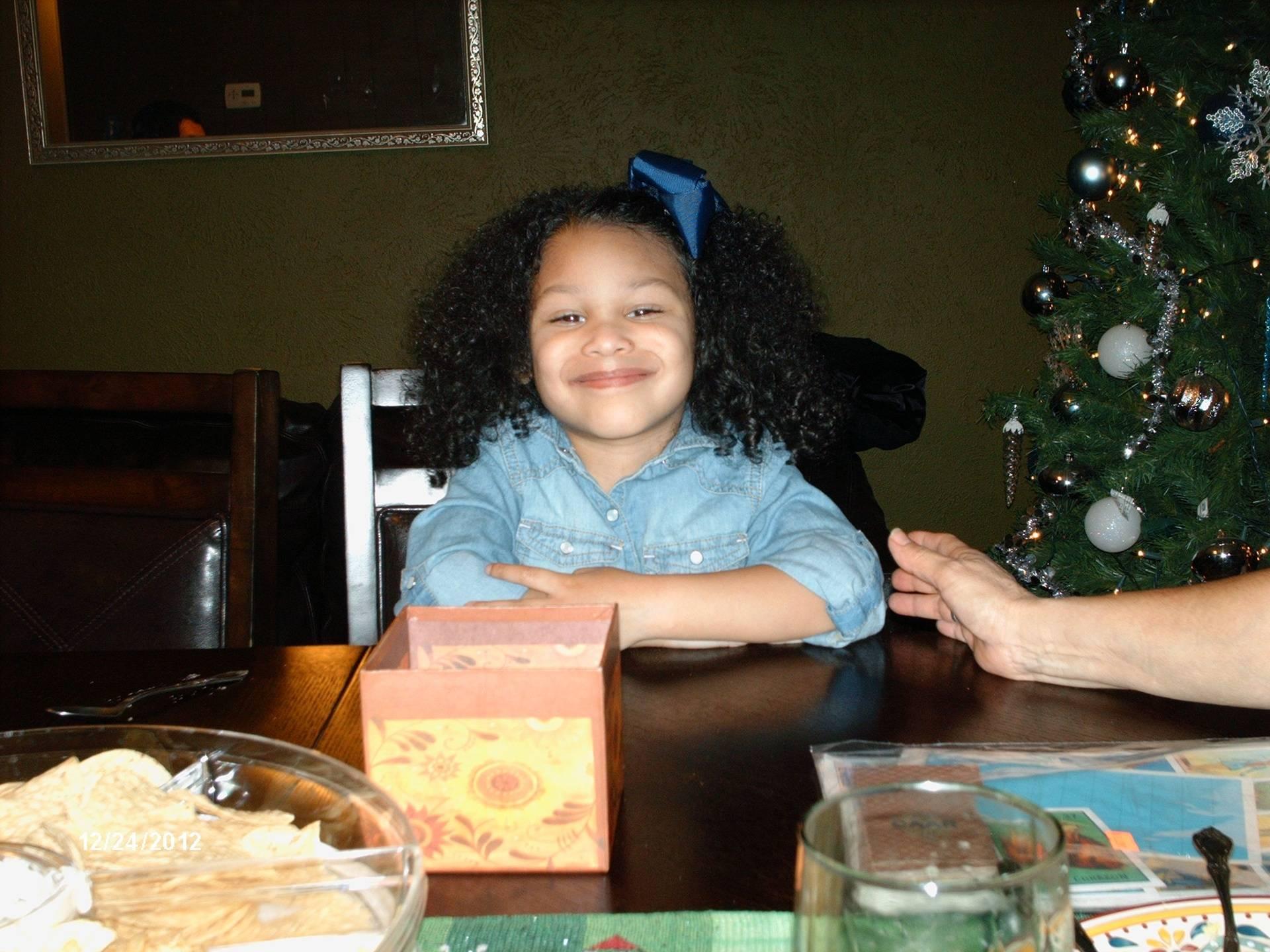 My Great Grandaughter Maiya