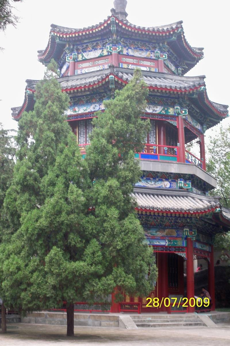 Pagoda at Summer Palace,  Beijing