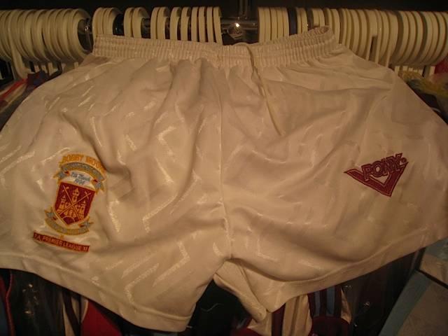 Bobby Moore Testimonial players shorts