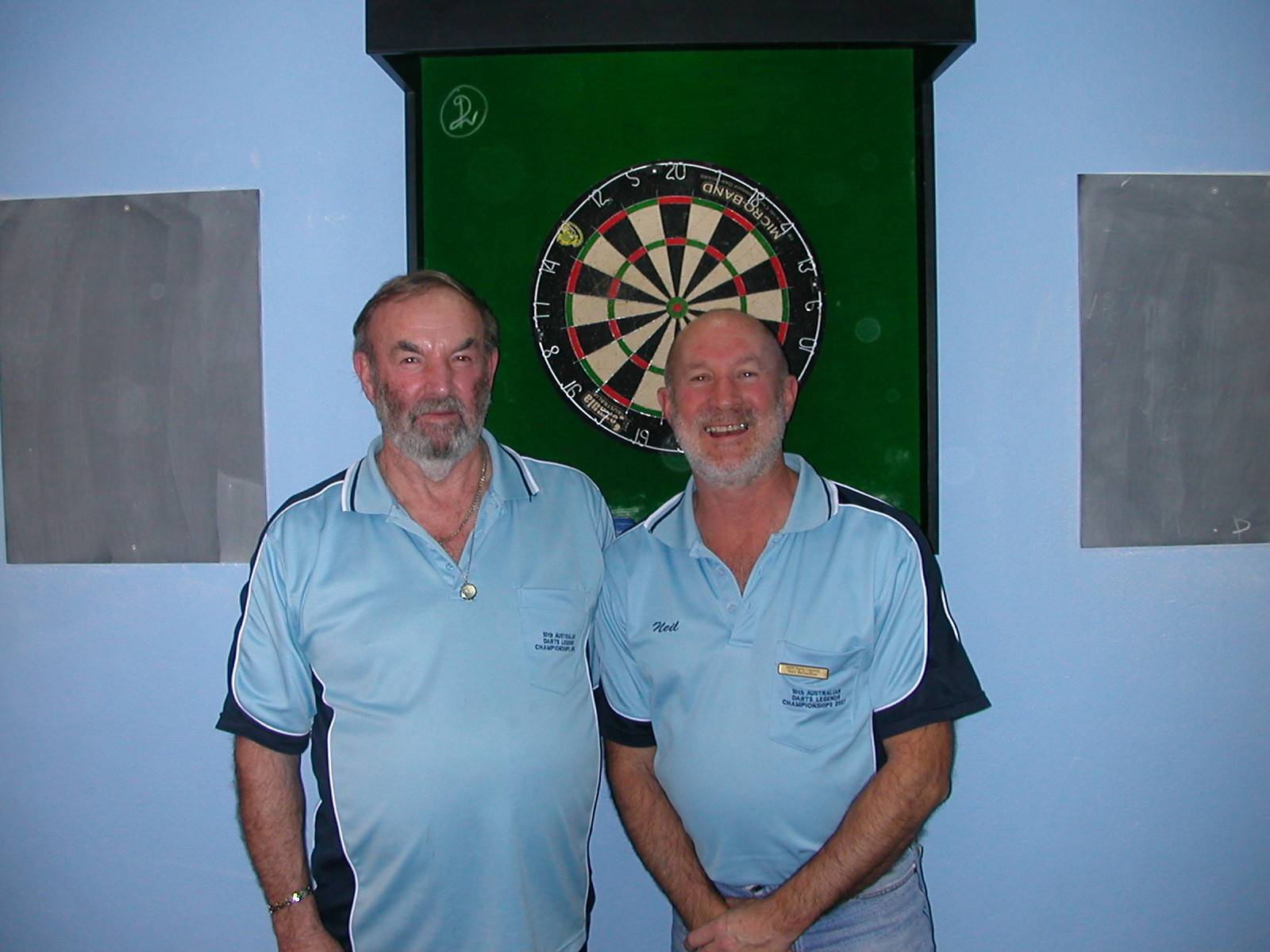 Mens Doubles Runners Up