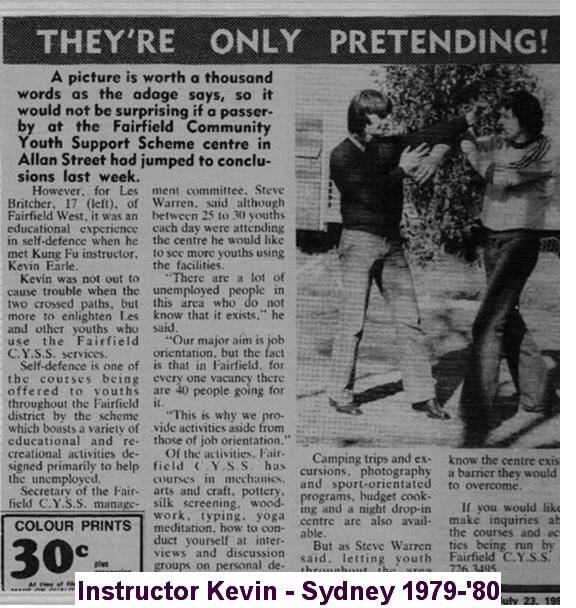 Training in Oz 1980