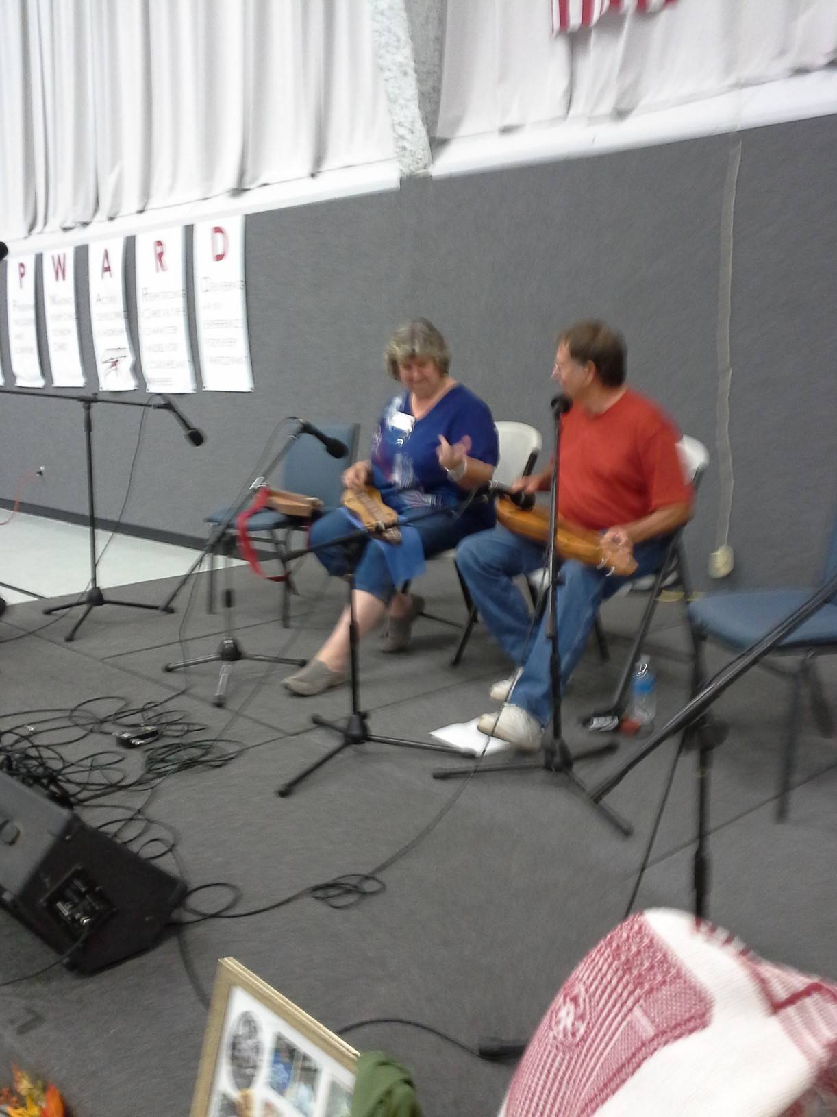 Jackie and Randy at Evansville Festival
