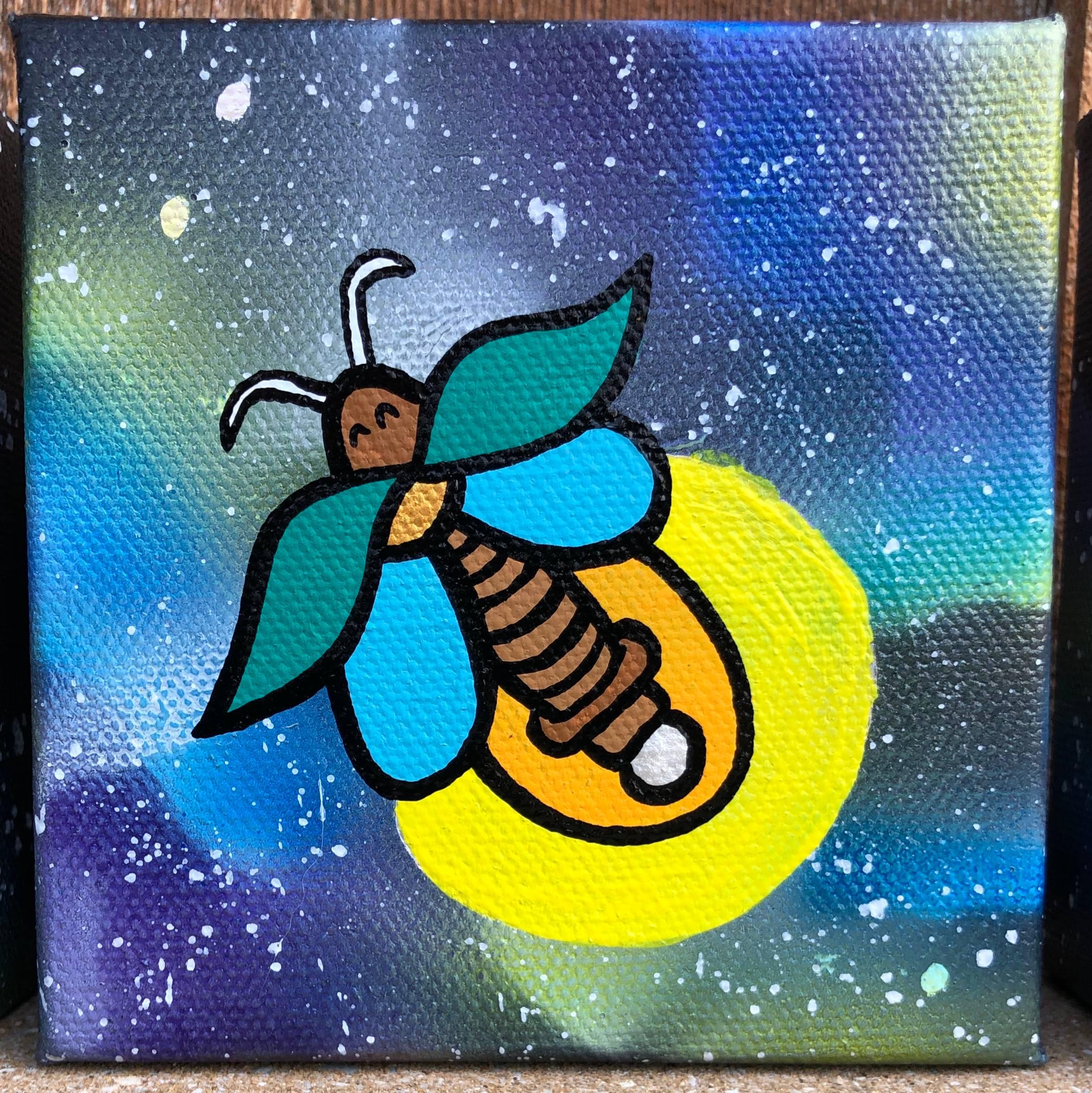 Fireflies in Space!