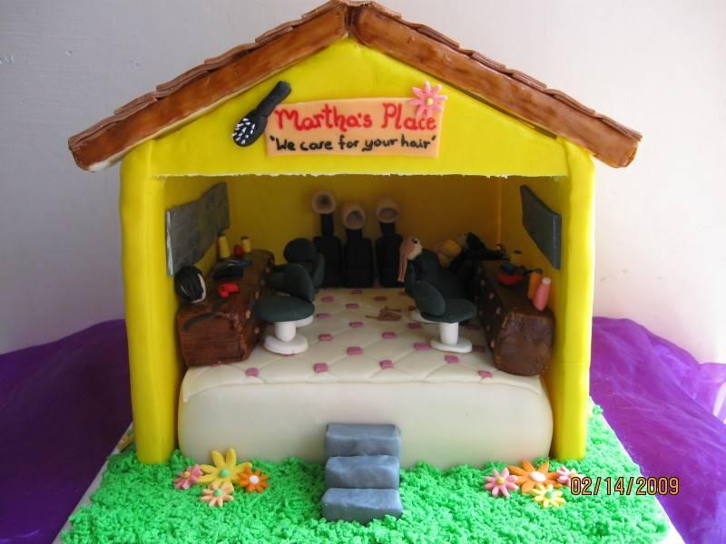 Cake 12A1 -Beauty Salon Cake