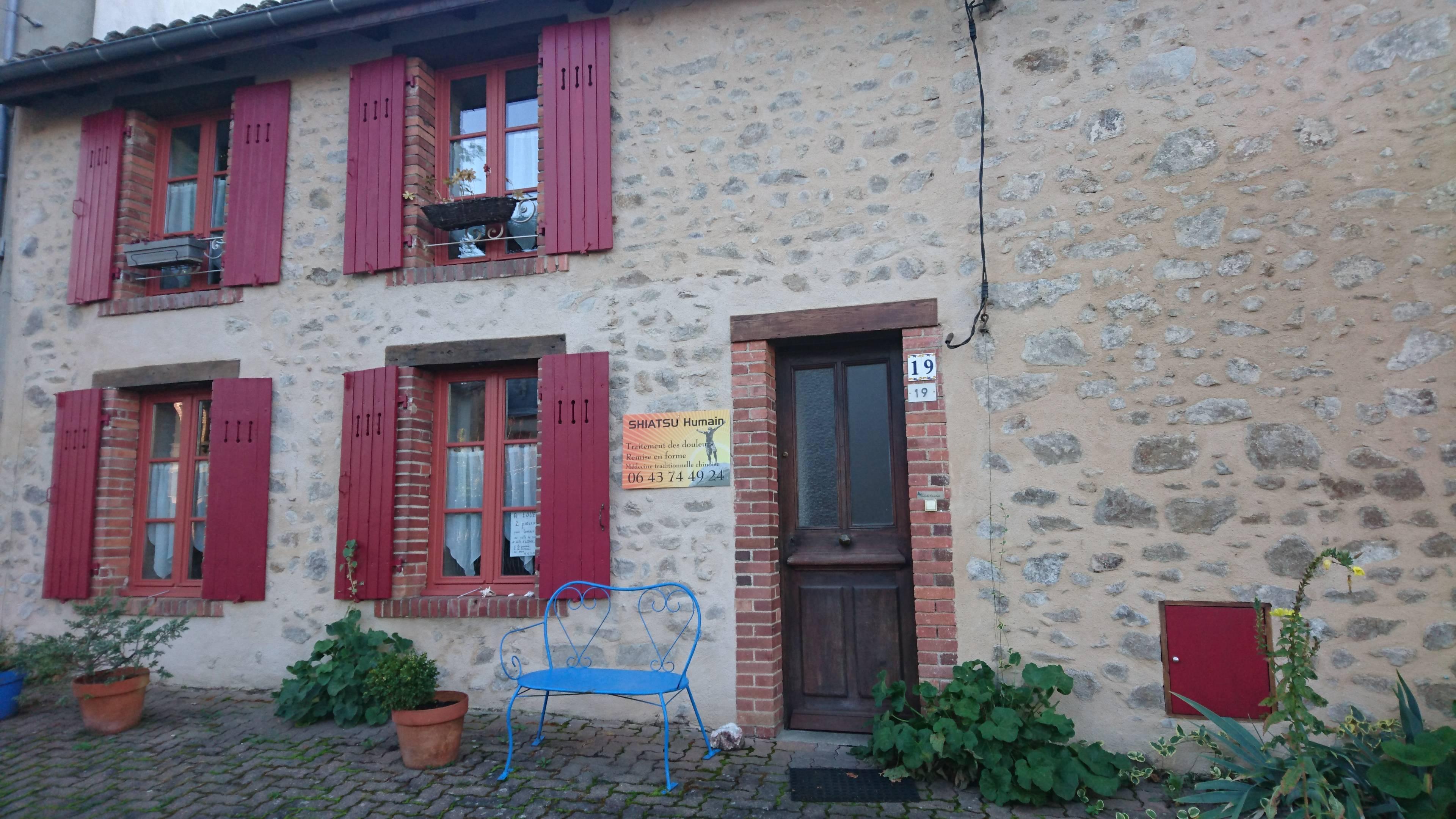 façade extérieure cabinet de Courpière