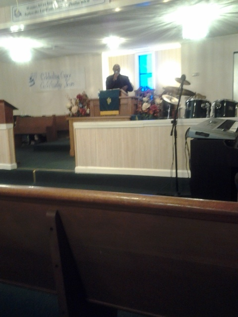 Pastor J. A. Woods