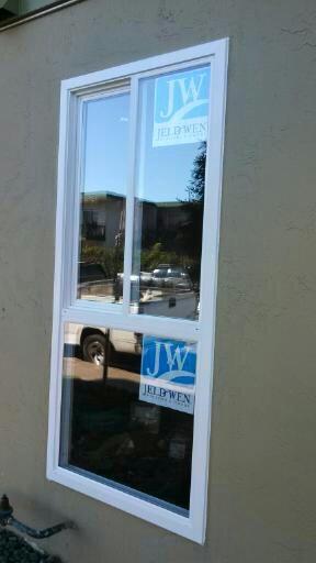 Stucco retro-fit window