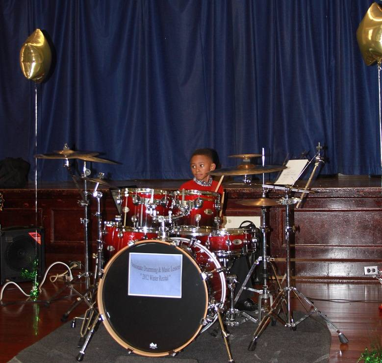He's only 6 & can really play!