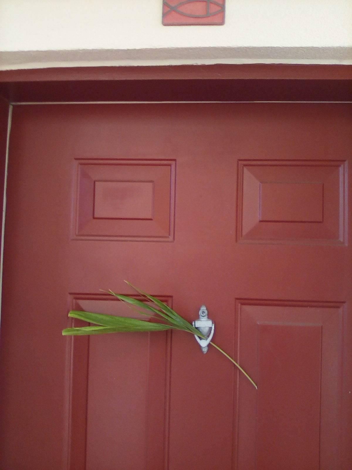 Jay Johnson's door