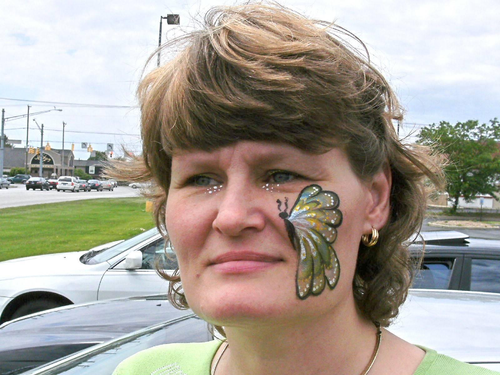 Cheek Butterfly