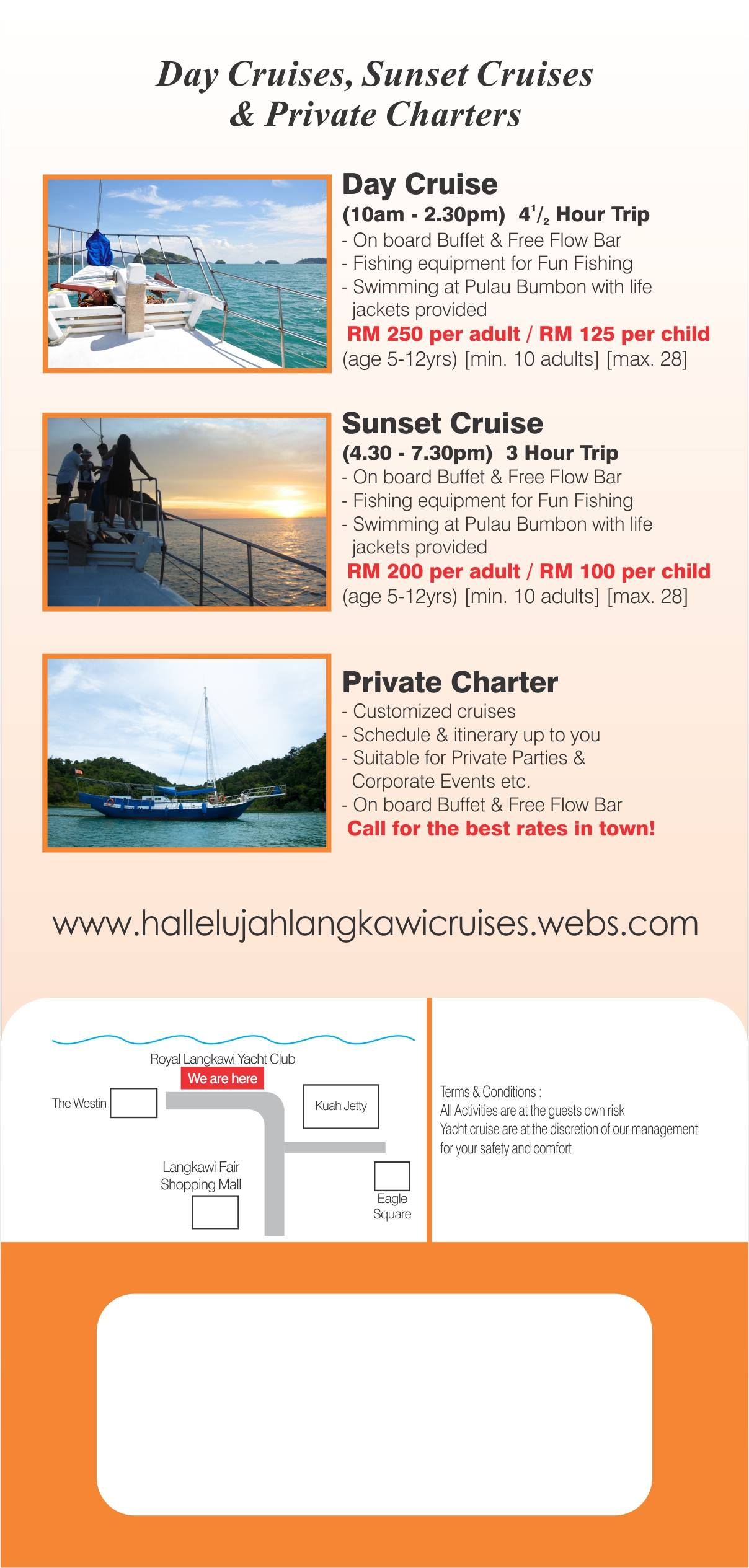 Langkawi Private Charter Yacht Cruises