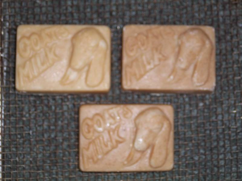 Nubian Head Goat Milk Soap