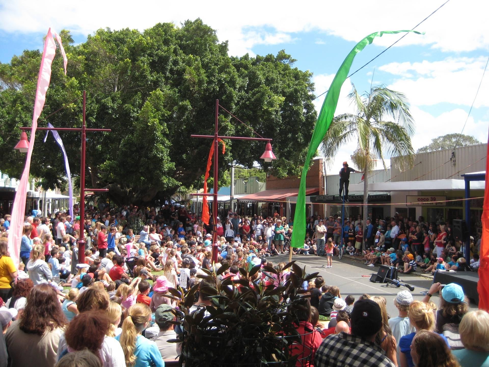 Coffs Harbour International Busking & Comedy Festival