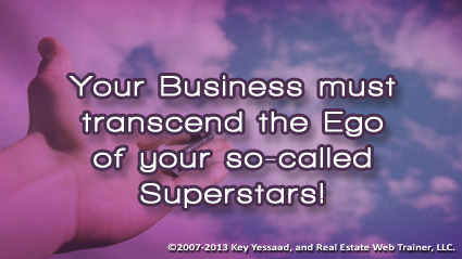 Your Business is created on Vision not Ego!