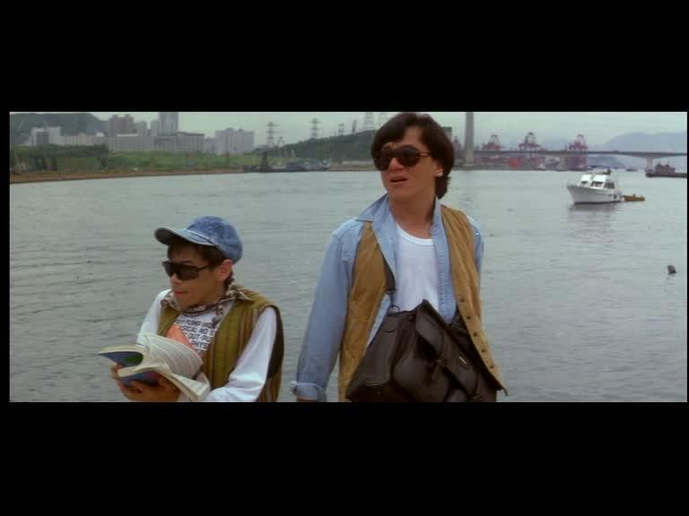 Jackie and Teddy Robin Kwan