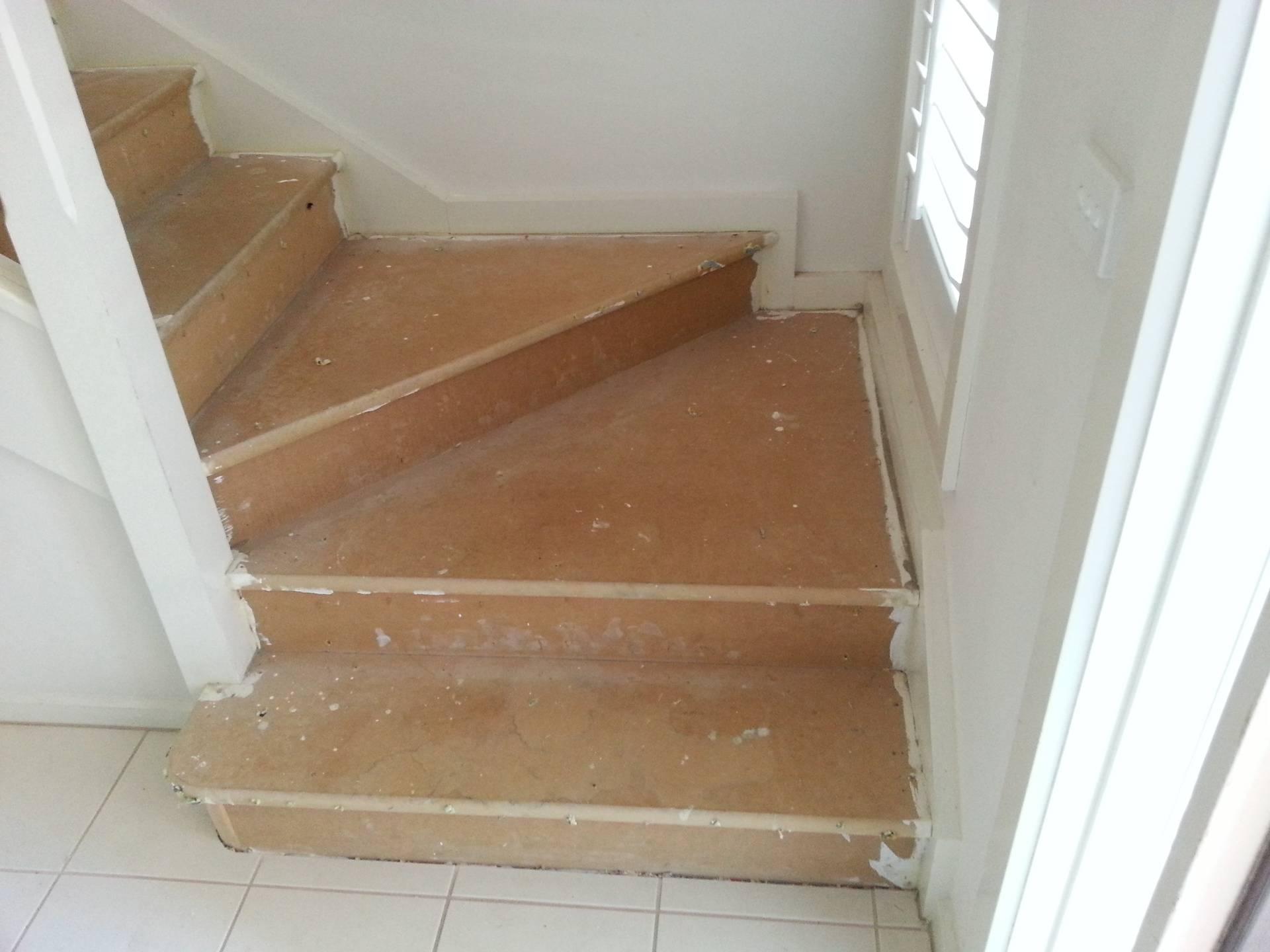 Stairs to hallway-work in progress