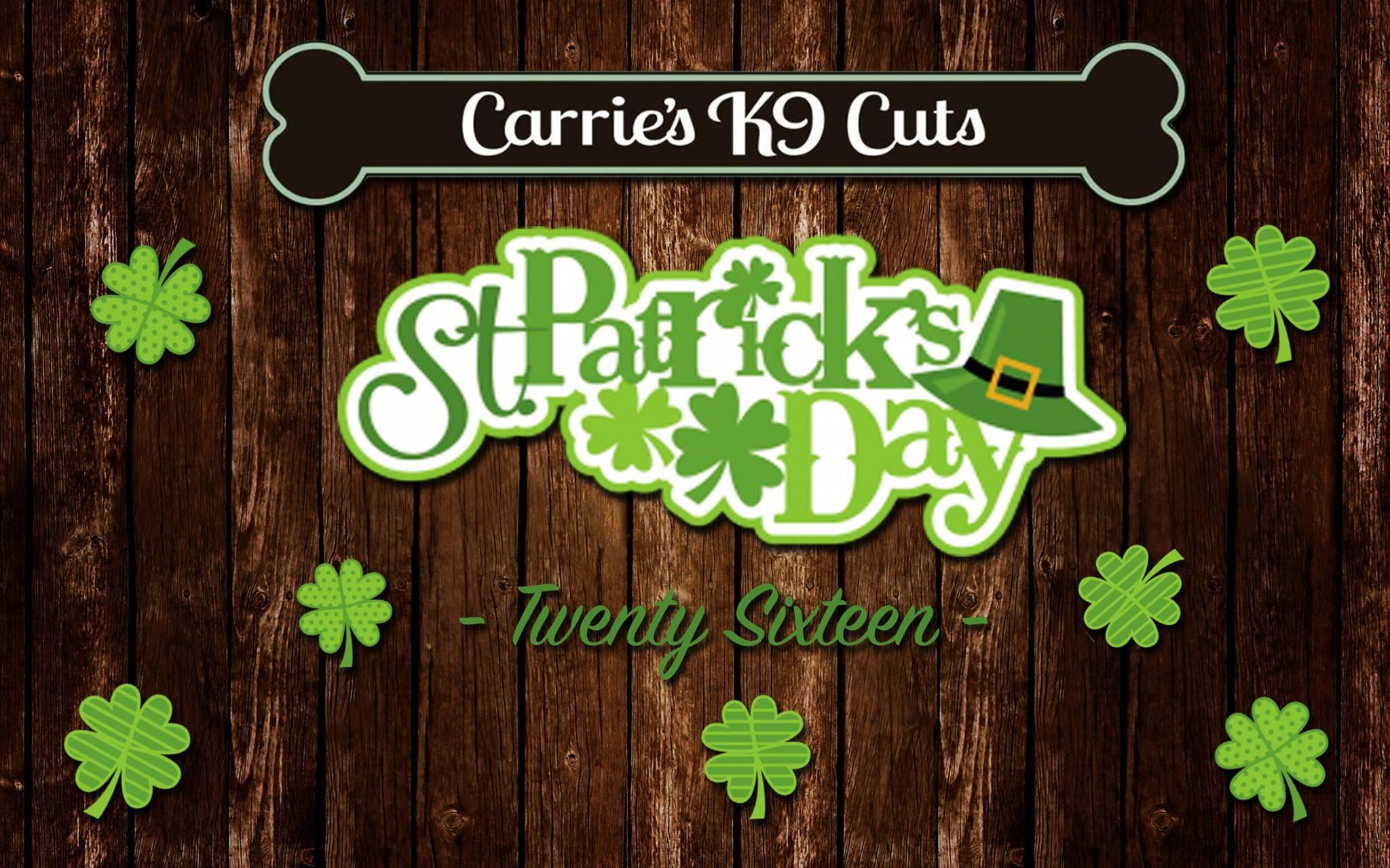 St. Patrick's Day Flyer 2016