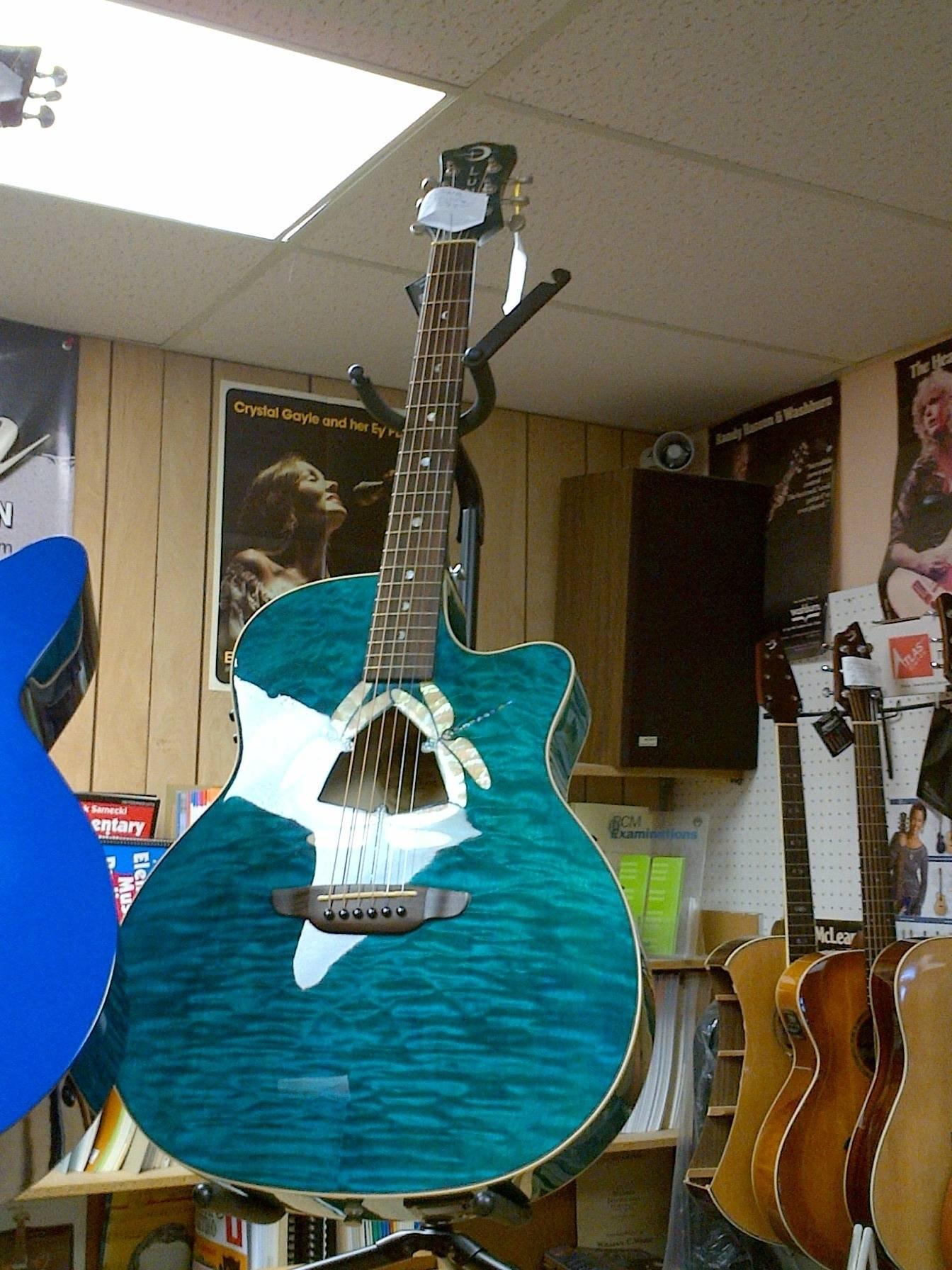 Luna DragonFly Guitar