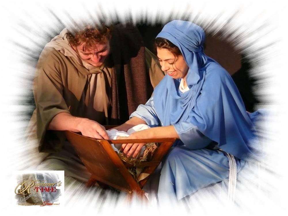 Scene 6 - Mary, Joseph and Baby Jesus