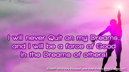 I am determined to pursue my Dreams