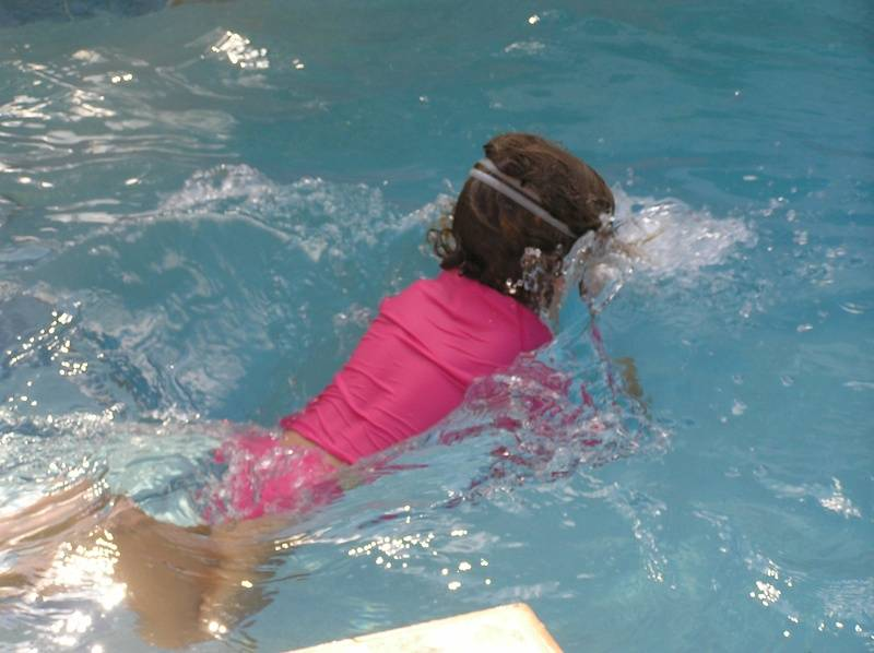 learning breaststroke